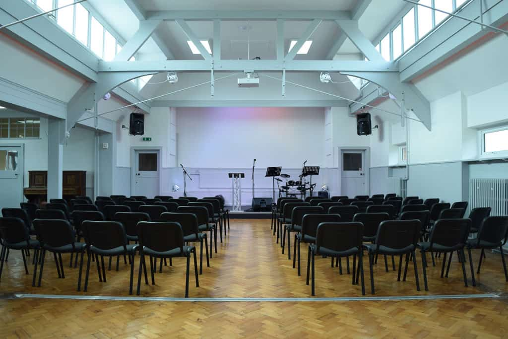 Church Hall with seating