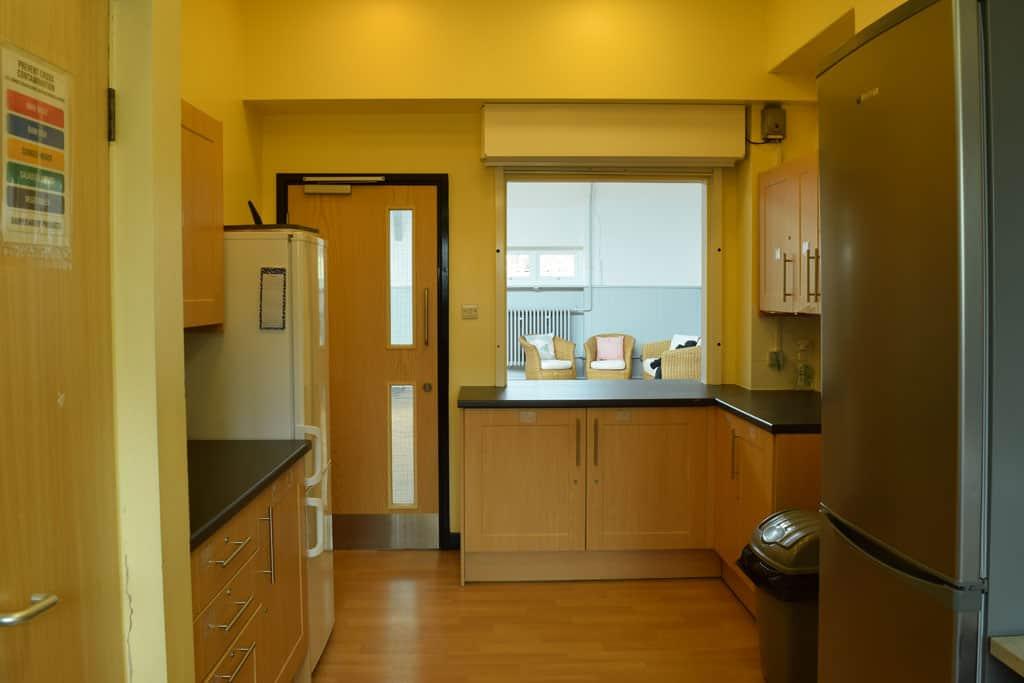 Inside of kitchen
