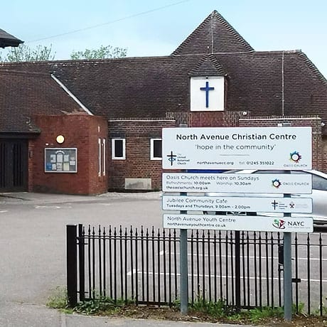 Photo of front of North Avenue Christian Centre